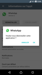 Sony Sony Xperia XA - Applications - Supprimer une application - Étape 7