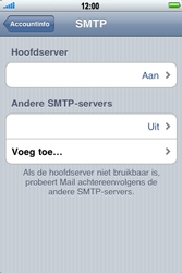 Apple iPhone 3G S - E-mail - e-mail instellen: POP3 - Stap 13