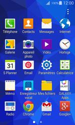 Samsung Galaxy Ace 4 - Photos, vidéos, musique - Créer une vidéo - Étape 3