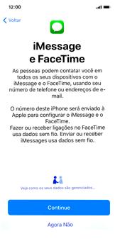 Apple iPhone X - iOS 12 - Primeiros passos - Como ativar seu aparelho - Etapa 20