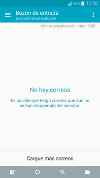 Samsung N910F Galaxy Note 4 - E-mail - Configurar Outlook.com - Paso 4