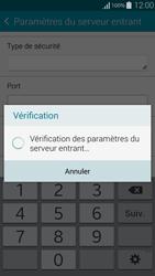 Samsung G850F Galaxy Alpha - E-mail - Configuration manuelle - Étape 12