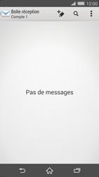 Sony D6503 Xperia Z2 - E-mail - Configurer l