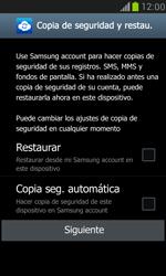 Samsung Galaxy S3 Mini - Primeros pasos - Activar el equipo - Paso 14