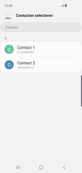 Samsung galaxy-s10e-dual-sim-sm-g970f - Contacten en data - Contacten kopiëren van SIM naar toestel - Stap 9