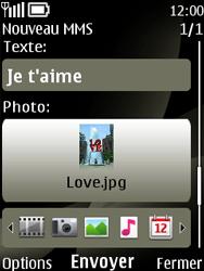 Nokia 6303 classic - MMS - envoi d'images - Étape 12