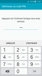 Samsung Galaxy S6 - Sécuriser votre mobile - Activer le code de verrouillage - Étape 8