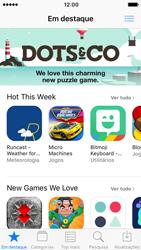Apple iPhone SE iOS 10 - Aplicações - Como pesquisar e instalar aplicações -  3