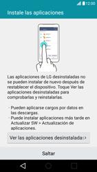 LG K10 4G - Primeros pasos - Activar el equipo - Paso 17