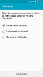 Samsung Galaxy S4 LTE - Segurança - Como ativar o código de bloqueio do ecrã -  12