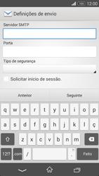 Sony Xperia M2 - Email - Configurar a conta de Email -  16