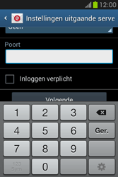 Samsung S6810P Galaxy Fame - E-mail - e-mail instellen: POP3 - Stap 12