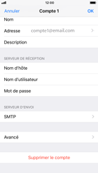 Apple iPhone 7 - iOS 12 - E-mail - Configurer l