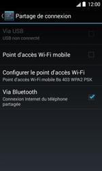Bouygues Telecom Bs 403 - Internet et connexion - Partager votre connexion en Wi-Fi - Étape 6