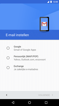 Huawei Google Nexus 6P - E-mail - handmatig instellen (outlook) - Stap 7