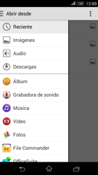 Sony Xperia E4g - E-mail - Escribir y enviar un correo electrónico - Paso 11
