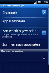 Sony Ericsson Xperia X8 - Bluetooth - Headset, carkit verbinding - Stap 7