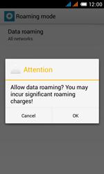 Alcatel OT-4033X Pop C3 - Internet - Usage across the border - Step 10
