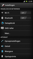 Sony ST26i Xperia J - Netwerk - Gebruik in het buitenland - Stap 4