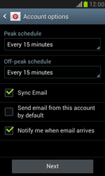 Samsung I8190 Galaxy S III Mini - E-mail - Manual configuration POP3 with SMTP verification - Step 16