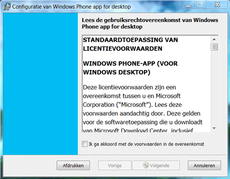 Nokia Lumia 1520 - Software - Download en installeer PC synchronisatie software - Stap 2