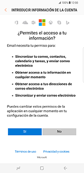 Samsung Galaxy S8 Plus - E-mail - Configurar Outlook.com - Paso 8