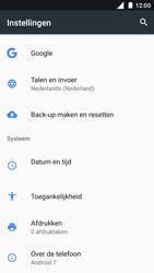 Nokia 5 - Resetten - Fabrieksinstellingen terugzetten - Stap 4
