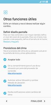 Samsung Galaxy S8 - Primeros pasos - Activar el equipo - Paso 16