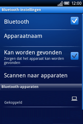 Sony Ericsson Xperia X8 - Bluetooth - Headset, carkit verbinding - Stap 9