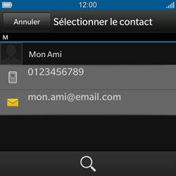 BlackBerry Q10 - Contact, Appels, SMS/MMS - Envoyer un SMS - Étape 7