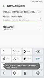 Samsung Galaxy A3 (2016) - Android Nougat - Chamadas - Bloquear chamadas de um número -  11