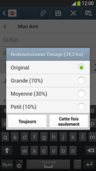 Samsung I9505 Galaxy S IV LTE - E-mail - envoyer un e-mail - Étape 14