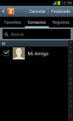 Samsung S7560 Galaxy Trend - Mensajería - Escribir y enviar un mensaje multimedia - Paso 8