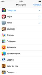 Apple iPhone iOS 8 - Aplicativos - Como baixar aplicativos - Etapa 5