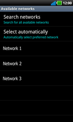 LG P970 Optimus Black - Network - Usage across the border - Step 8