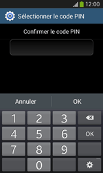 Samsung Galaxy Ace 3 - Sécuriser votre mobile - Activer le code de verrouillage - Étape 11