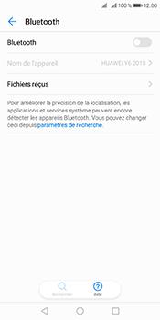 Huawei Y6 (2018) - Internet et connexion - Connexion avec un équipement multimédia via Bluetooth - Étape 6
