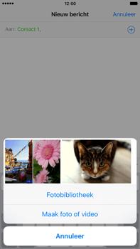 Apple iPhone 6 Plus iOS 9 - MMS - afbeeldingen verzenden - Stap 8