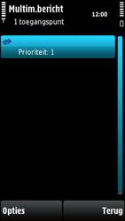 Nokia X6-00 - MMS - handmatig instellen - Stap 13