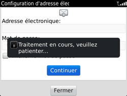 BlackBerry 9900 Bold Touch - E-mail - Configuration manuelle - Étape 8