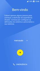 Alcatel Idol 4 VR - Primeiros passos - Como ligar o telemóvel pela primeira vez -  5