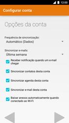 Motorola Moto Turbo - Email - Como configurar seu celular para receber e enviar e-mails - Etapa 10