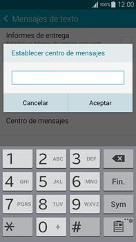 Samsung N910F Galaxy Note 4 - Mensajería - Configurar el equipo para mensajes de texto - Paso 8