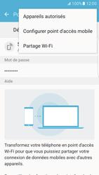 Samsung Galaxy S7 Edge - Internet et connexion - Partager votre connexion en Wi-Fi - Étape 8
