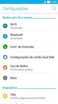 Asus Zenfone 3 - Rede móvel - Como ativar e desativar o modo avião no seu aparelho - Etapa 4