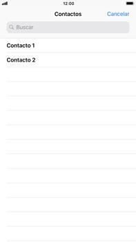 Apple iPhone 7 Plus iOS 11 - Mensajería - Escribir y enviar un mensaje multimedia - Paso 5