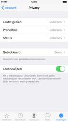 Apple iPhone 6 iOS 9 - WhatsApp - Configureer je profiel foto en achtergrond in WhatsApp - Stap 9