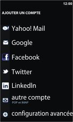 Nokia Lumia 800 - E-mail - Configurer l