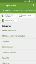 Samsung Galaxy S4 LTE - Aplicações - Como pesquisar e instalar aplicações -  6