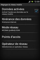 Sony ST21i Xperia Tipo - Internet - Activer ou désactiver - Étape 6